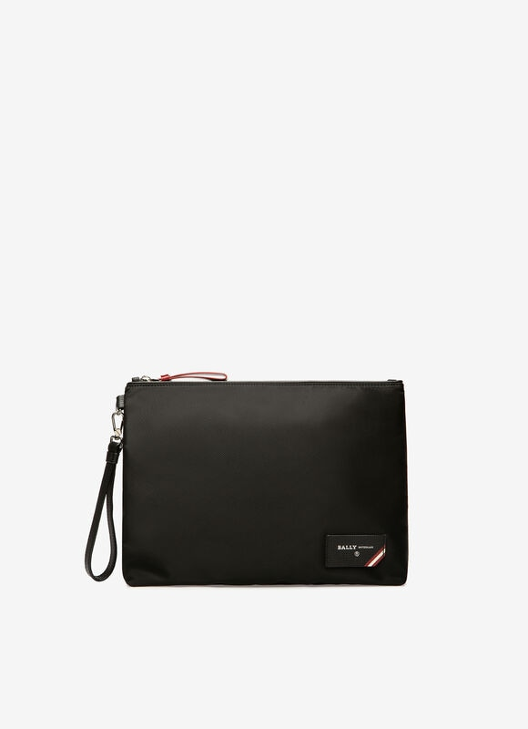 黑色 NYLON Clutches & Portfolios - Bally