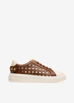NEUTRAL COTTON Sneakers - Bally