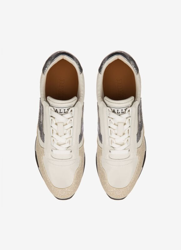 WHITE MIX SYNT shoes - Bally