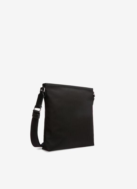 BLACK FABRIC Messenger Bags - Bally