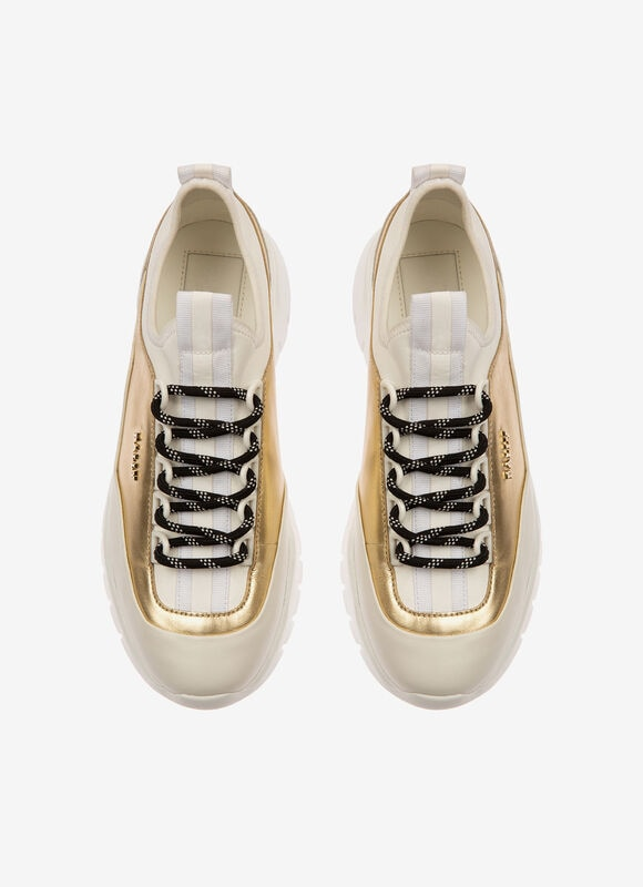 METALLIC CALF Sneakers - Bally