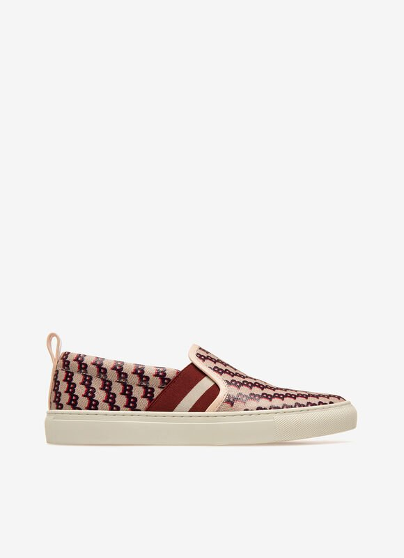 PINK MIX COTTON Sneakers - Bally