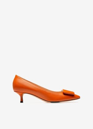 ORANGE LAMB shoes - Bally