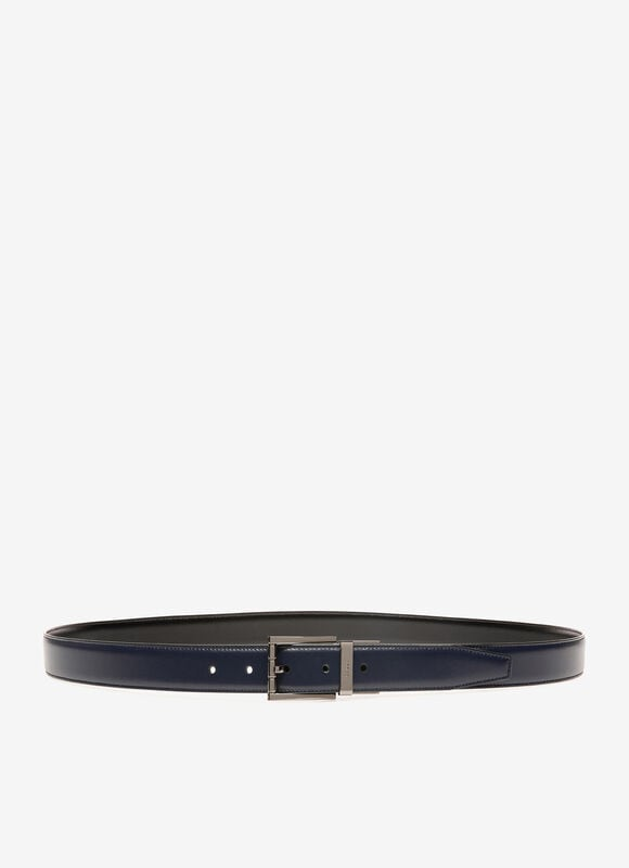 BLUE BOVINE SPLIT Belts - Bally