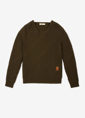 GREEN WOOL Knitwear - Bally