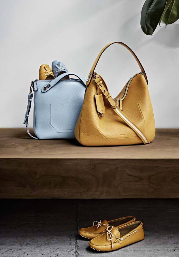 c3ea8dddff THE CORNER BAG WITH TORTOISESHELL SUNGLASSES  the ballyssime bag collection  - deauville ballerinas - lux drivers